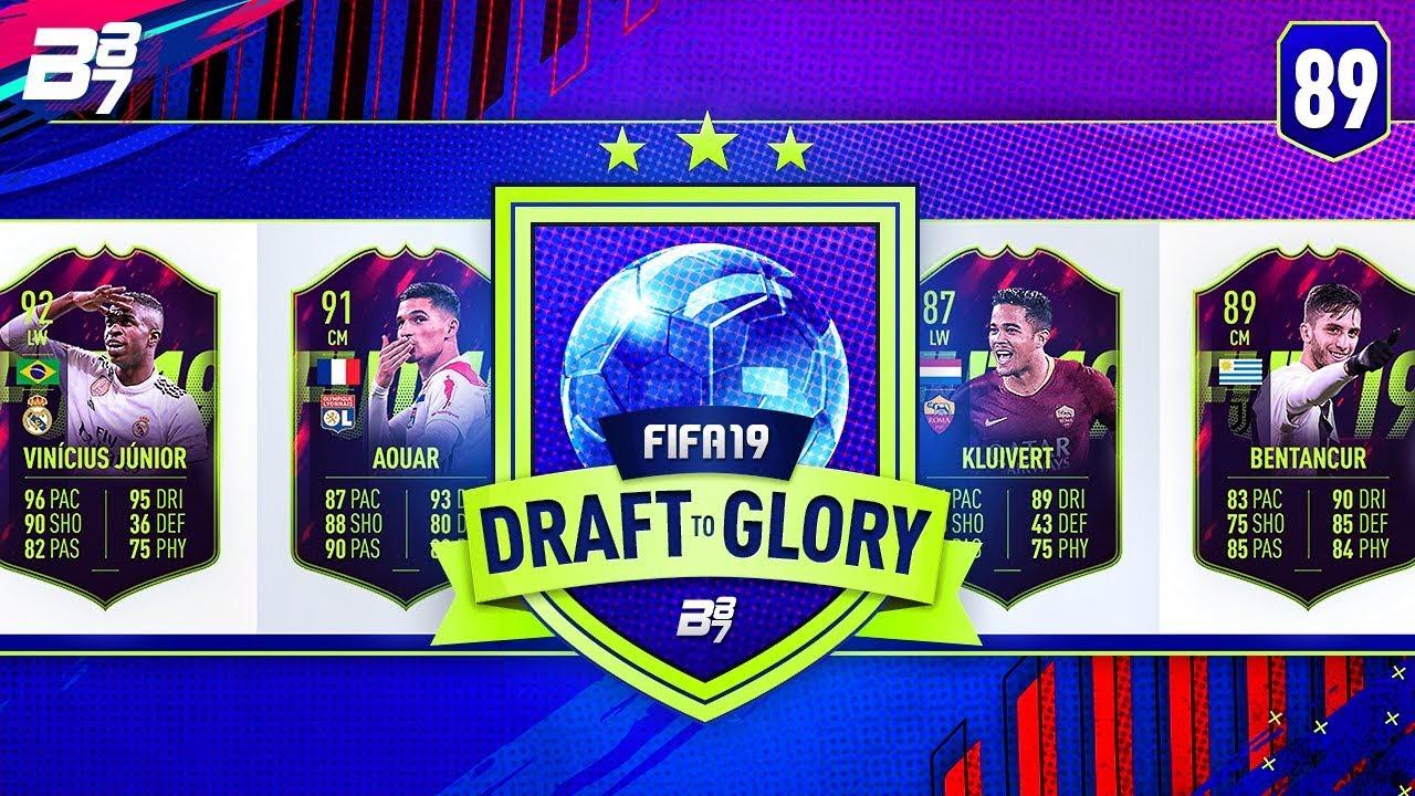 INSANE FUTURE STARS DRAFT! | FIFA 19 DRAFT TO GLORY #89