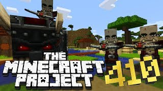 THE GREAT VILLAGER WAR! - The Minecraft Project #410