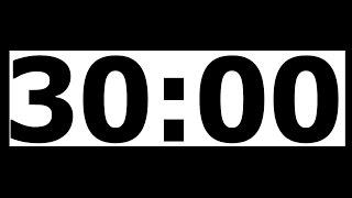 Video 30 Minute Countdown Timer with Alarm download MP3, 3GP, MP4, WEBM, AVI, FLV November 2018