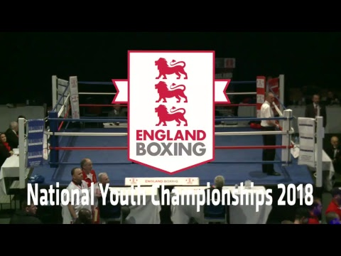 England Boxing - National Youth Championships 2018 Day 3 FINALS on Ring A