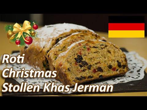 Membuat Roti Christmas Stollen, Hidangan Natal Khas Jerman