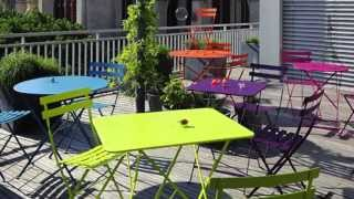 Fermob Bistro Collection Folding Tables And Chairs At Thegardengates.com