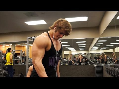 Chest Workout w/ Jeff Seid and company