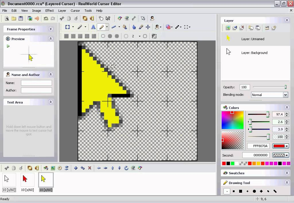 How to Make a Mouse Cursor That Changes Color Using Real World ...