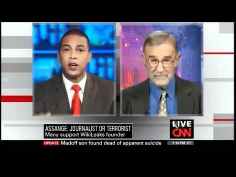 (CNN) Ex-CIA Ray McGovern Supports Wikileaks' Julian Assange.flv