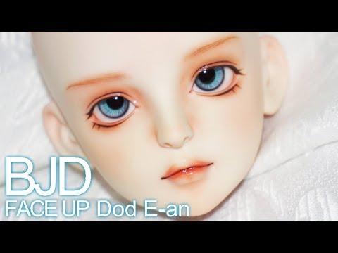 [구체관절인형 메이크업] Dod E-an / bjd face up