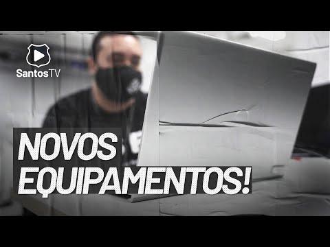 💻SANTOS FC FAZ NOVA AQUISIÇÃO DE EQUIPAMENTOS!