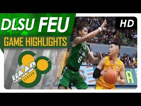 DLSU vs. FEU | Game Highlights | UAAP 80 Men's Basketball |