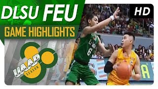 DLSU vs. FEU | Game Highlights | UAAP 80 Men's Basketball | Sept. 10, 2017