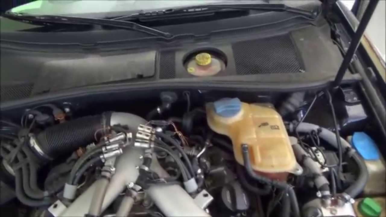 Ремонт Audi a6 2.7 Turbo Quattro 300 лс. закипел перегрел