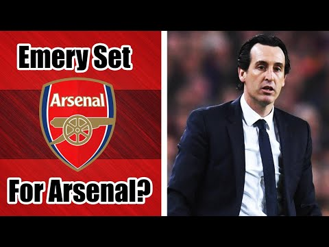 Unai Emery appointed Arsenal manager? Q&A Football Live Stream
