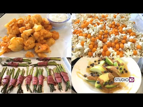 Healthier Tailgating Snacks
