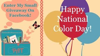 Happy National Color Day!