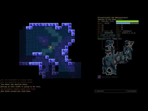 15 Rune Centaur Air Elementalist Part 19 - Dungeon Crawl Stone Soup