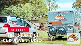 Adventure Bound Travelling Australia in a Caravan - Ep One