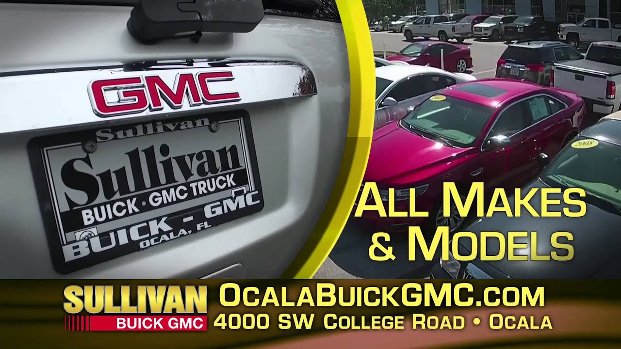Huge Selection of Pre Owned Vehicles at Sullivan Buick GMC in Ocala     Huge Selection of Pre Owned Vehicles at Sullivan Buick GMC in Ocala