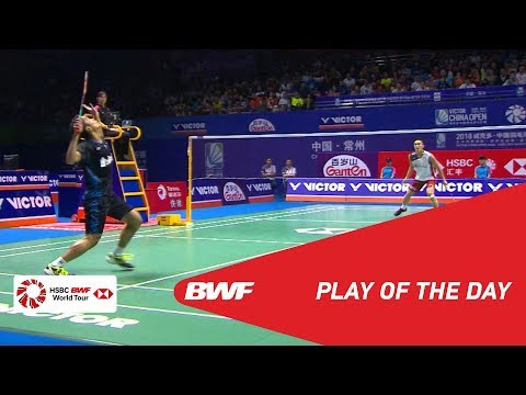 Play Of The Day   VICTOR CHINA OPEN 2018 F   BWF 2018