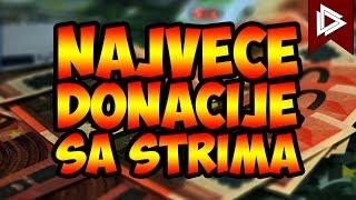 NAJVEĆE DONACIJE SA STRIMA DO SADA! thumbnail