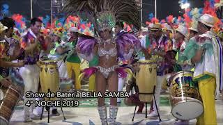 4 Noche Carnaval Concordia Show Batería Bella Samba