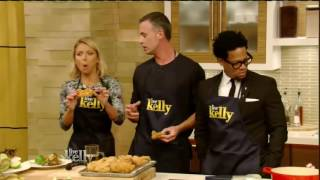 Freddie Prinze Jr interview Live! With Kelly co host D.L. Hughley (June 06, 2016) 6/6/16