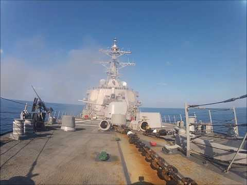 "USS Laboon, CIWS and 5""54"