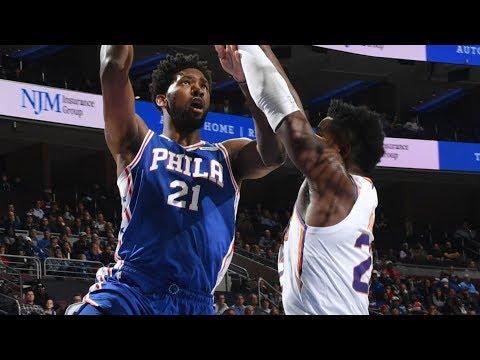 Joel Embiid Blows Wide Open Dunk! 33 Pts vs Ayton! 2018-19 NBA Season