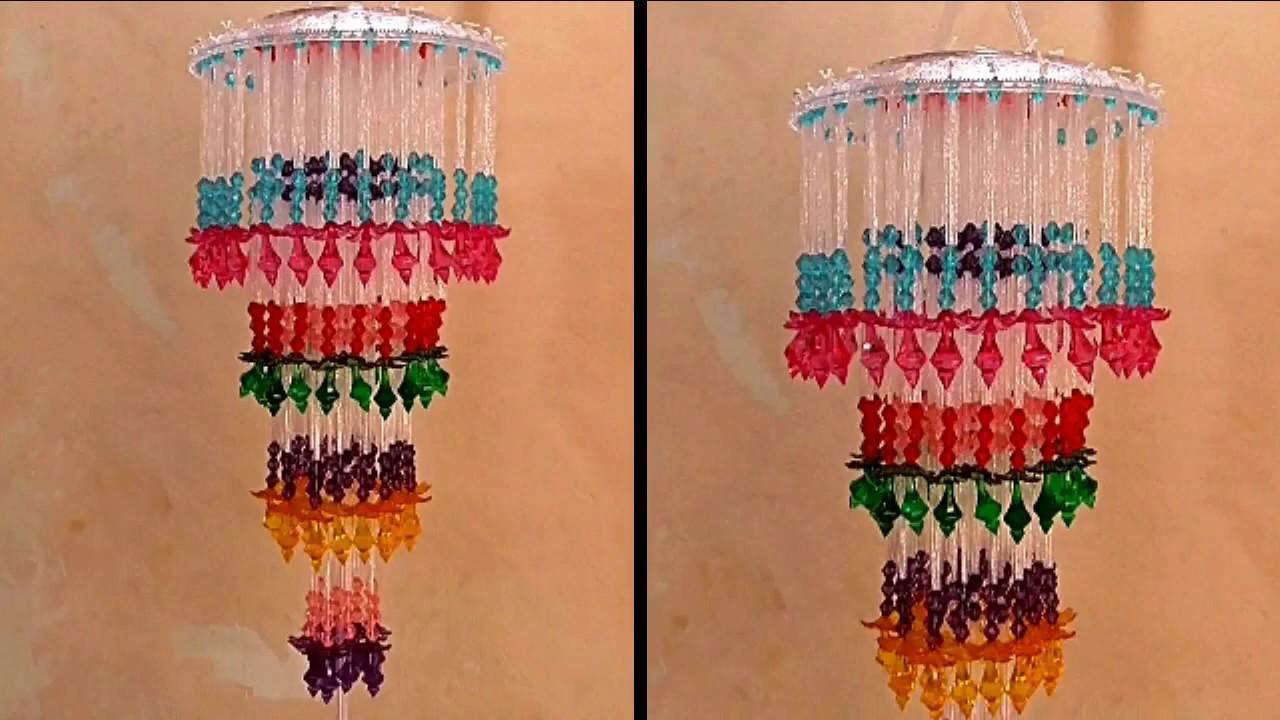 Diy Wall Hanging Jhumar || DIY Wind Chime || Jhumar Banane Ka Tarika