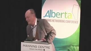 Rex Murphy at Manning Conference