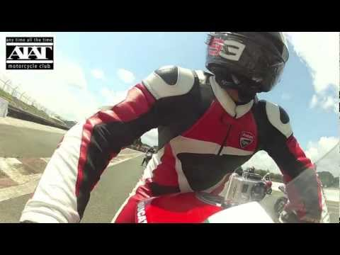 DUCATI OPEN Class in Clark International Speedway