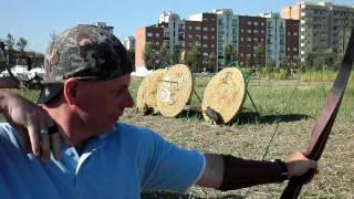 World Longbow Champion Steve Morley Estonia
