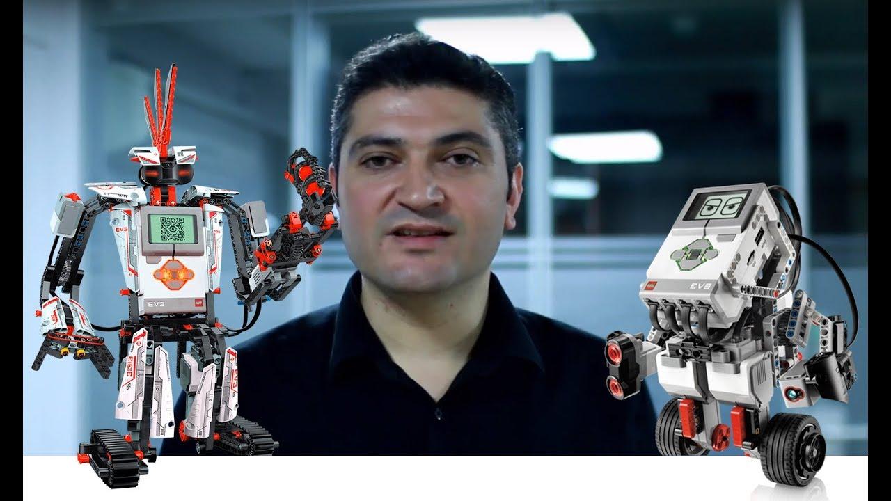Lego Mindstorms EV3 Uygulamalı Robotik ve Kodlama Kursu