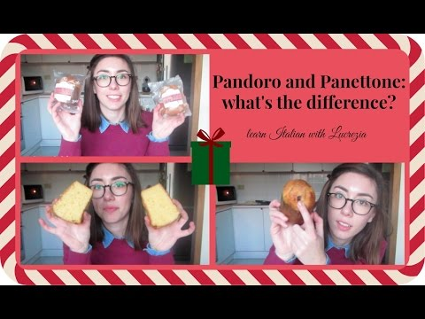 Pandoro And Panettone: What's The Difference? - Learn Italian With Lucrezia