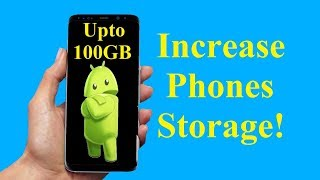 How to Increase Android Internal Storage!