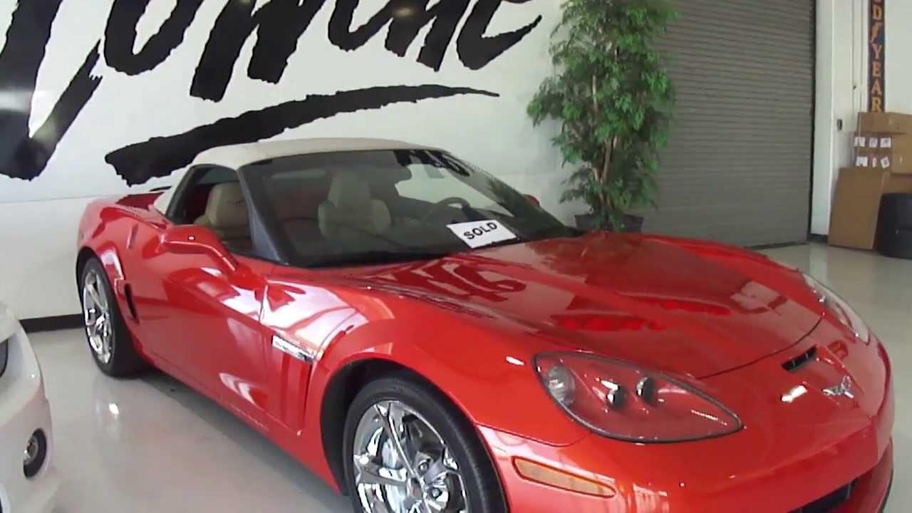 2012 inferno orange corvette grand sport pre shipping video corvette world dallas youtube. Black Bedroom Furniture Sets. Home Design Ideas