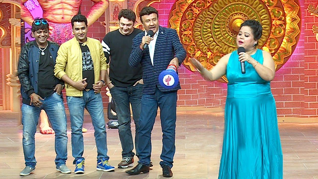 Bharti Singh, VIP, Anu Malik, Rajesh Kumar FUNNY Comedy At Comedy Dangal Launch