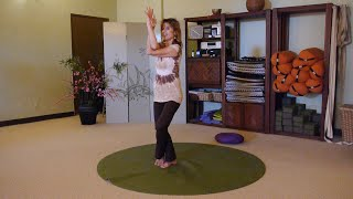 Gentle Yoga Eagle Flow for Balance and Strength with Sherry Zak Morrs, E-RYT