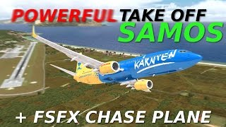 Download [FSX] POWERFUL TAKE OFF at Samos (+FSFX CHASE PLANE!) MP3