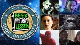 Best Movies, Comics & TV of 2017 - Geek History Lesson