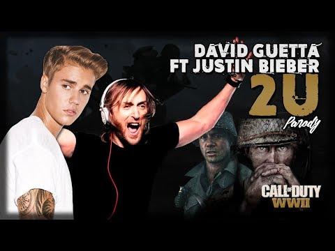 Call of Duty WWII   '2U' PARODY (David Guetta ft Justin Bieber)