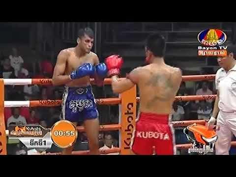 Vong Noy Cambodia Vs Buakiew Sitsongpeenong Thailand, Khmer Warrior Bayon TV Boxing 27 July 2018