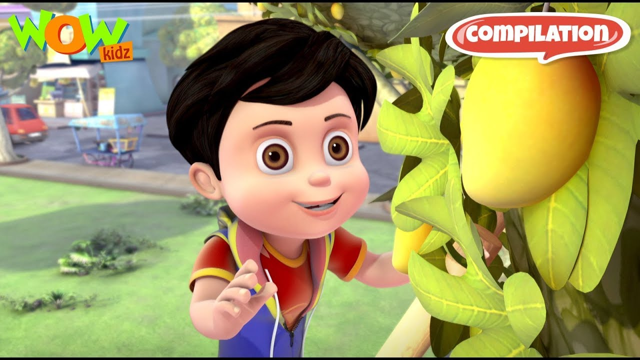 Download Vir: The Robot Boy # 3 - 3D action compilation for kids - As seen on Hungama TV