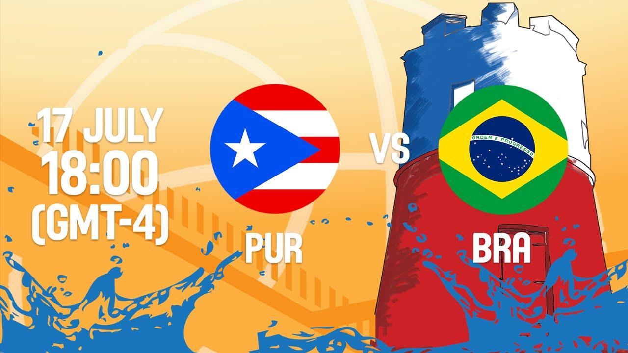 Puerto Rico v Brazil - Full Game - 3rd Place