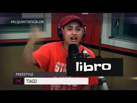 TIAGO Y UN FREESTYLE ENFERMIZO CON PALABRAS - El Quinto Escalon Radio (13/12/17)