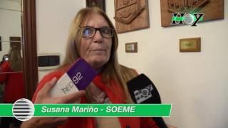 Susana Mariño denunció la falta de ofrecimiento salarial a los gremios