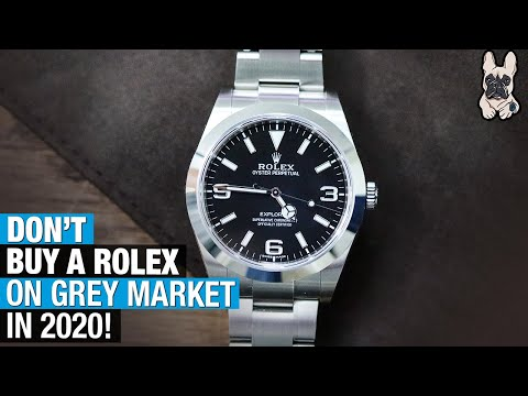 Why You Should NOT Buy a ROLEX on Grey Market Right Now!