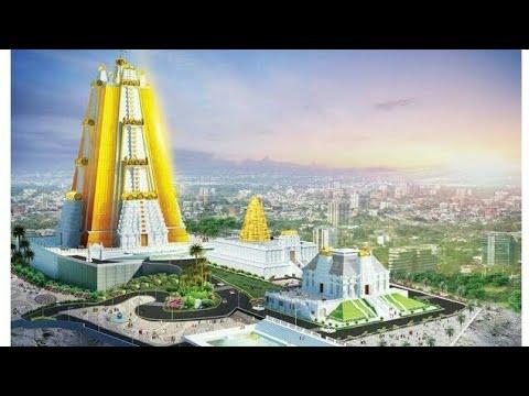 ISKCON Temple, Vaikuntha Hill - Krishna Lila Theme Park - ISKCON Bangalore (Underconstruction)