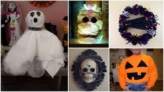 SIX CHEAP AND EASY DIY HALLOWEEN CRAFT IDEAS | PINTERST INSPIRED