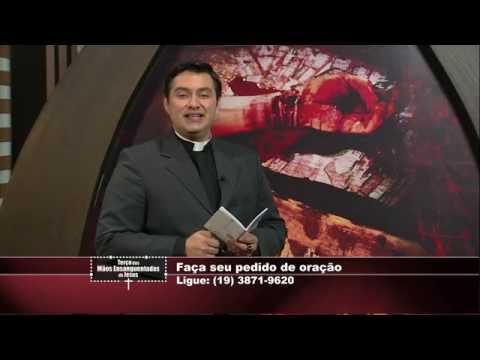 Terço Mãos Ensanguentadas de Jesus - 08/07/2016