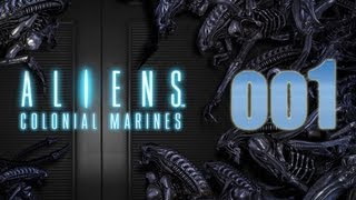Aliens Colonial Marines gameplay walkthrough [PC/Deutsch/German] #001 - Let