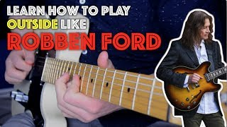 robben ford and the diminished scale